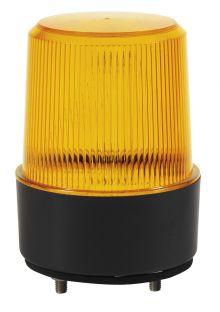 LED WARNLEUCHTE 10-30V MIT FLACHER UNTERLAGE / MONTAGE AUF OBERFLÄCHE