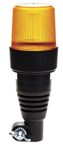 LED WARNLEUCHTE 10-30V MIT FLEXIBLER UNTERLAGE / MONTAGE AUF SCHWENKARM