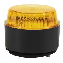 LED WARNLEUCHTE 10-30V MIT FLACHER UNTERLAGE/ MONTAGE AUF OBERFLÄCHE