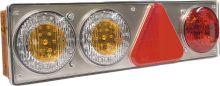 HINTERE LED LEUCHTE MIT 6 FUNKTIONEN SERIE DSL-2200 24V
