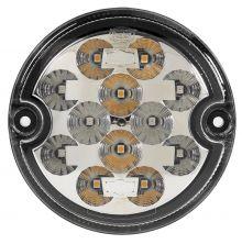 HINTERE LED LEUCHTE MIT 3 FUNKTIONEN  9-33V MIT UNTERLAGE / PG STECKDOSE/KABEL1m